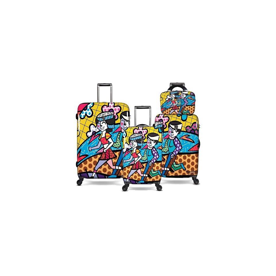 Romero Britto Britto Heys 4 Piece Luggage Set