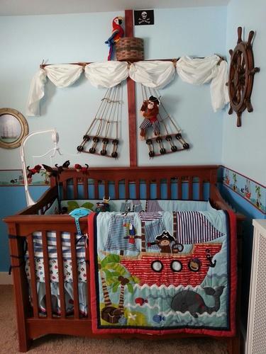 Amazon Com Treasure Island 4 Piece Baby Crib Bedding Set