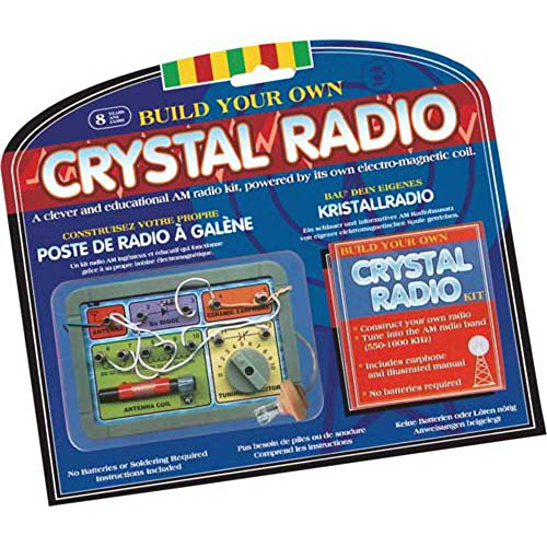 Special Complete Build Your Own Crystal Radio Kit (Crystal Radio Kit compare prices)