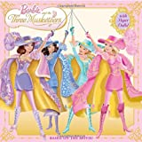 Barbie and the Three Musketeers [With Paper Dolls] (Barbie 8x8) Mary Man-Kong