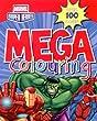 Marvel:Avengers Assemble/ Super Heroes Mega Colouring Book (Spiderman, Hulk, Iron Man, Thor, Captain America) from Parragon