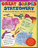 Great shapes stationery : 50 reproducible sheets‧25 thematic designs