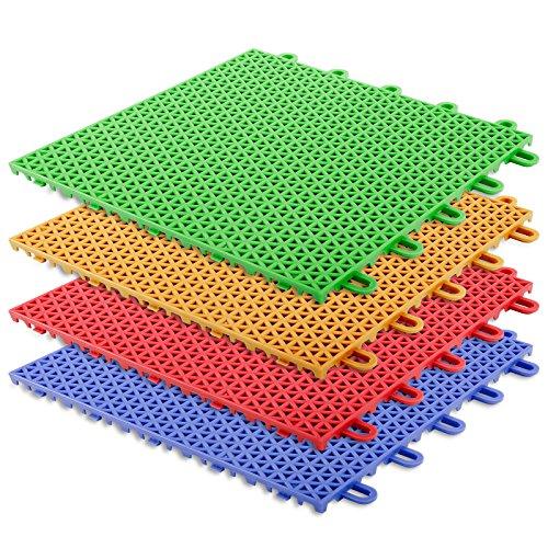 casa-purar-interlocking-plastic-floor-tiles-safe-protect-green-16-tile-1m-set-playground-activity-fl