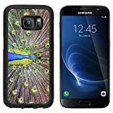 MSD Premium Samsung Galaxy S7 Aluminum Backplate Bumper Snap Case IMAGE ID: 2905435 Malaysia Pangkor island Pangkor Laut nice peacock with colorful feathers