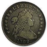 1799 / 8 Draped Bust Dollar VF-30 PCGS (15 Stars Reverse) Silver VF-30 PCGS