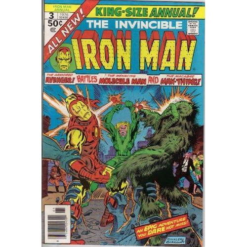 Iron Man Annual #3 Comic Book