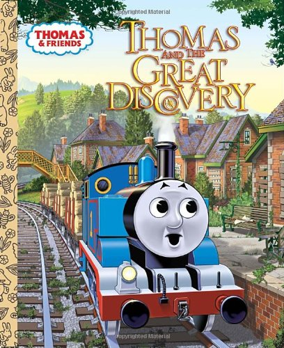 Thomas And The Great Discovery (Thomas & Friends) (Little Golden Book)