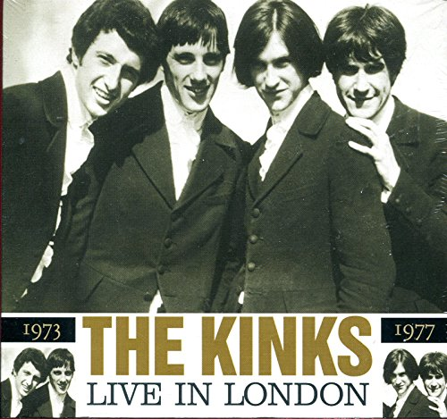 The Kinks : Live In London 1973-1977~ Cd Digipack W/ Foldout Package [Import] Compact Disc By The Kinks [ Ray Davies]