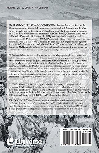 El Discurso Cubano: Los Estados Unidos Van a la Guerra Con Espana En 1898