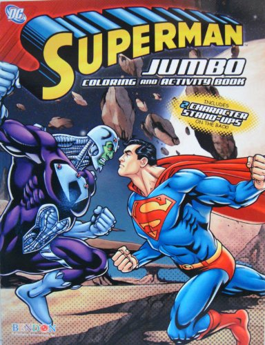 1 SUPERMAN COLORING and ACTIVITY BOOK (#2)