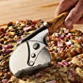 Stainless Steel Pizza Cutter Turning Kit, Chrome Finish