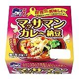 おはよう納豆 マッサマンカレーたれ納豆極小粒ミニ3(40g×3) 12個入
