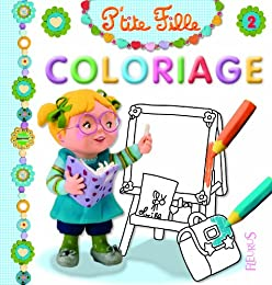Coloriage P'tite fille 2