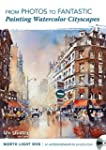 Light in Watercolor Cityscape Paintg/DVD