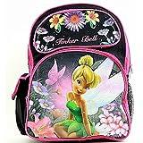 Disney Fairies Tinkerbell Backpack Girl's Pink/Black School Bag