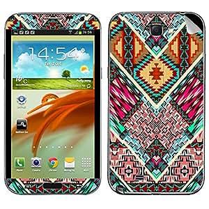 Theskinmantra Geometric Stripes Samsung Galaxy Note 2 mobile skin