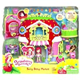 Charlotte aux Frais / Strawberry Shortcake - 32267 - Super Playset - Le Fraisi Supermarché / Berry Bitty Market - incl. Charlotte aux Frais / Strawberry Shortcake Mini Poupée (env. 8 cm) - avec beaucoup d'accessores - sons et lumiere - Edition Anglaise...