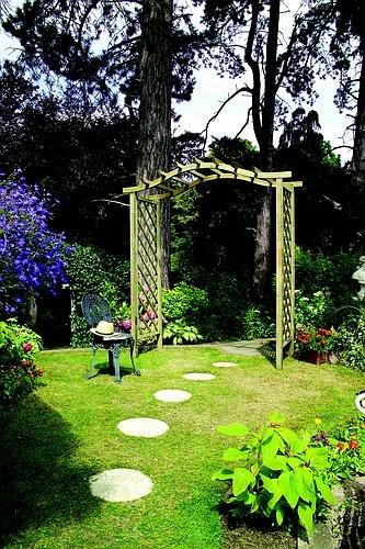 Grange Fencing, Ltd Elite Portico Arch