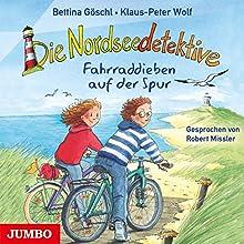 Fahrraddieben auf der Spur (Die Nordseedetektive 4) Hörbuch von Bettina Göschl, Klaus-Peter Wolf Gesprochen von: Robert Missler