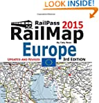 RailPass RailMap Europe 2015: Icon il...