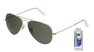 aviator ray ban gold  ban rb3025 w3234 55mm