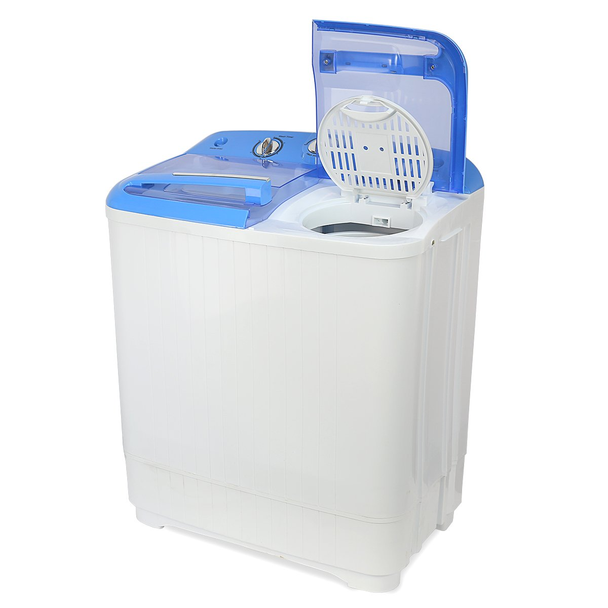 Electric Mini Washer and Spin Cycle Portable Washing Machine With ...