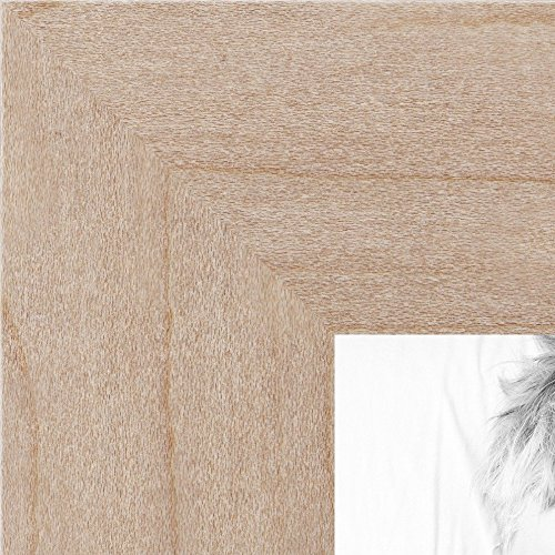 ArtToFrames 24x36 /  24  x  36 Picture Frame Clear Finish on Hard Maple ..  1.25'' wide (WOM71206) (Fotos Cuadros compare prices)