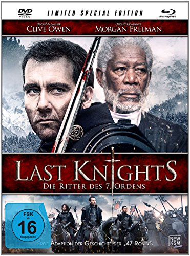 Last Knights - Die Ritter des 7. Ordens (Limited Special Edition im Mediabook) [inkl. DVD + Blu-ray Disc] [Limited Collector's Edition]