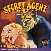 Secret Agent X #14: Talons of Terror | Emile C. Tepperman