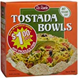 Rio Rancho (6-Inch) Tostada Bowls, 4-Count Bowls (Pack of 6)