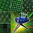 Foxnovo SD09 150mw rot und gr�n DJ Mini Disco Laser Stage Lighting Party Lichtprojektor mit Stativ (Blau)