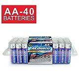 ACDelco AA Super Alkaline Batteries in Recloseable Package, 40 Count (Color: Original Version, Tamaño: 40-Count)