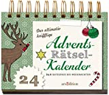 Book - Der ultimativ knifflige Advents-R�tsel-Kalender: 24 x Ratespa� bis Weihnachten (R�tsel-Adventskalender)