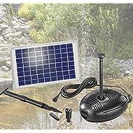 Esotec roma système de pompe solaire pour étang