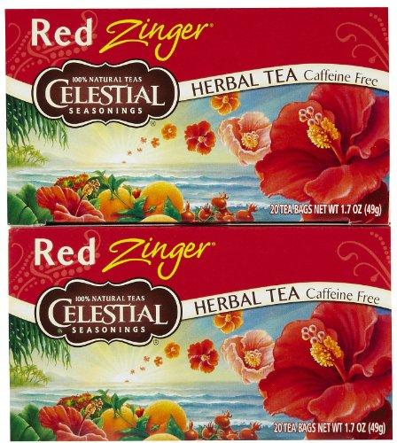 Celestial Seasonings, Herb Tea,Red Zinger 20 Bag Ea 1