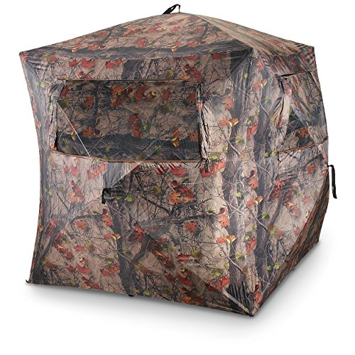 Discover Bargain Guide Gear 5-Hub Ground Hunting Blind