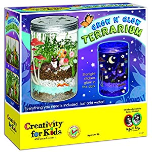 Creativity For Kids Grow 'n Glow Terrarium by Faber and Castell
