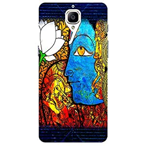 Violin Girl - Mobile Back Case Cover For One Plus 3