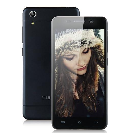 CUBOT X9 5.0 Pouces IPS HD écran 3G Smartphone HotKnot Android 4.4 MTK6592 Octa Core Téléphone Portable Double SIM Double Veille 2G RAM 16G ROM OTG GPS Finger Gesture Air Gesture Mobile WIFI - Noir