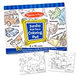 Melissa & Doug Jumbo Coloring Pad - Blue