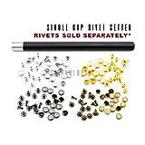 CRAFTMEmore Single Cap Rivet Setter Stud Die Punch Setting Tool (Rivet Setter, 5MM) (Color: Rivet Setter, Tamaño: 5MM)