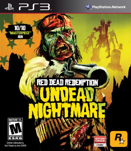 Games Red Dead Redemption Undead Nightmare  Playstation 3