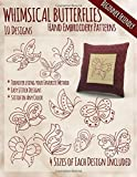 img - for Whimsical Butterflies Hand Embroidery Patterns book / textbook / text book