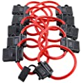 Bullz Audio (BATC10) ATC 10-Gauge In-Line Fuse Holder - 10 Piece