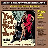 Classic Blues Artwork from the 1920s: 2015 Calendar (+CD)