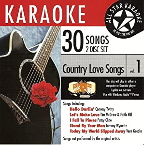 ASK-79 Country Karaoke Love Songs; Conway Twitty, Deana Carter and Vern Gosdin