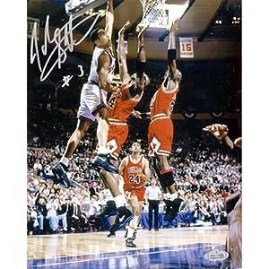 Steiner Sports NBA New York Knicks John Starks with Cartwright Dunk (16 x 20-inch) by Steiner Sports