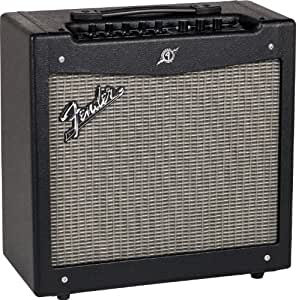 fender mustang ii v2 40 watt 1x12 inch combo electric guitar amplifier musical. Black Bedroom Furniture Sets. Home Design Ideas