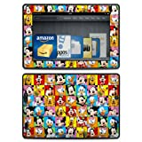 Disney Friends Design Protective Decal Skin Sticker (Matte Satin Coating) for Amazon Kindle Fire HD 7 inch (released 2013) eBook Reader