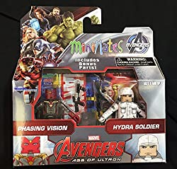 Marvel Avengers Age of Ultron Minimates Series 63 VARIANT Phasing Vision & Hydra Soldier 2